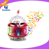 Gift portable mini wireless bluetooth led lamp speaker support with TF/USB/FM