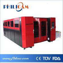 China 500w/1000w/2000w fiber laser cutting auto machine / cutting word