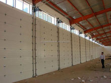 New design automatic commercial automatic rolling garage doors