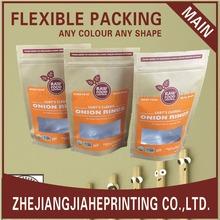 Eco-friendly Kraft paper bag for row food,food packing bag,kraft bag
