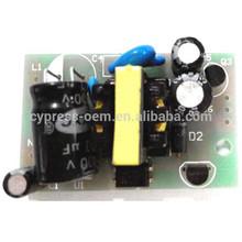 Oem pequeño AC 100 V - 265 V 50 / 60 HZ de extremo a extremo DC 12 V / 500mA 5 V / ma AC / DC convertidor 6.5 W