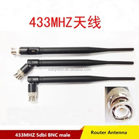 Factory Price 5dbi 433MHZ BNC male antenna for Router