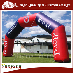 Customized Cheap Inflatable Arch for Sale, Inflatable Entrance Arch