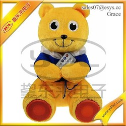 Bridthday gift Lovely plush/stuffed teddy bear toys with custom sound message