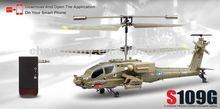 3.5ch apache controllo iphone elicottero con giroscopio