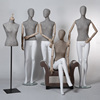 Flexible Mannequin for Window Display, Female Mannequin for Decoration, Fabric wrapped mannequin