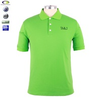 custom embroidery 100% polyester polo t-shirt design