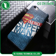 Skull American Heros 3D Printing cell phone case for iPhone 6 Soft TPU cell phone case for iPhone 6 Different designs