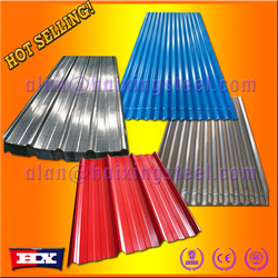 Now 90% discounting color roof with price