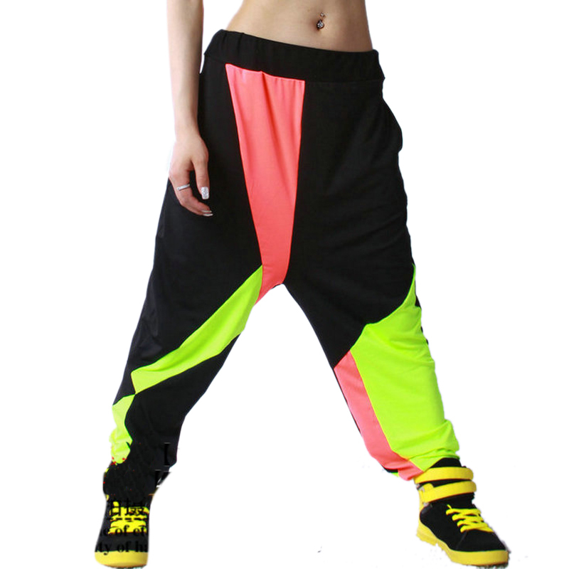 Baggy pants women hip hop
