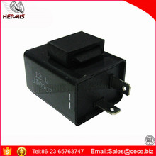 Black 2 PIN 12V Motorcycle Flasher with buzzer