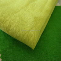 natural 100% pure flax linen fabric for shirt