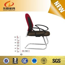 red luxury reclining heated executive office chair for stainless steel