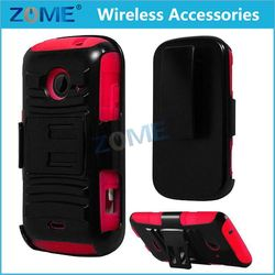 ali expres china oem odm neoprene laptop Rubberized PC+TPU Dual Holster Combo case /cover FOR ZTE Zinger Prelude 2 Z667