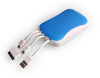 9mm thin logo phone charger power bank for moto x with led charge indicator