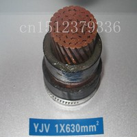 low voltage pvc jacket xlpe insulated single core power cable 630mm2
