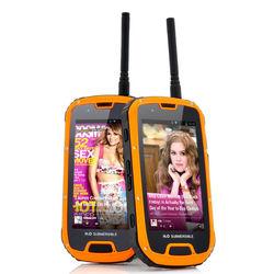 ip68 smartphone 4.3 inch screen smartphone 2gb ram quad-core smartphone