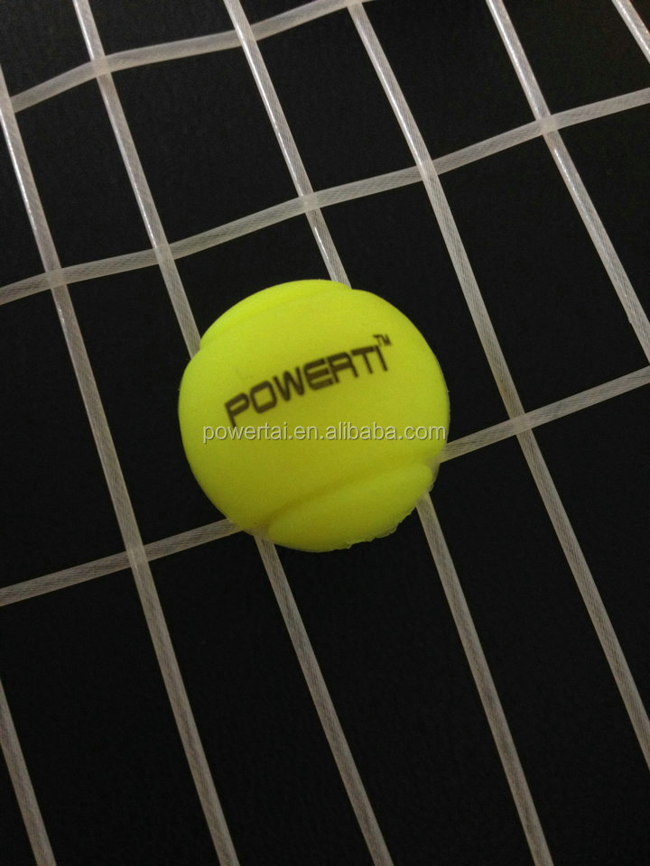 how to put on a tennis dampener