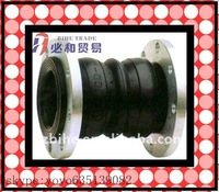 highly flexibility sales well rubber coupling with flange