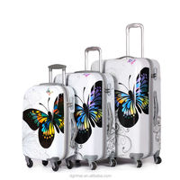 2015 Hot Sale Factory 4 Wheel PC Trolley Luggage Case