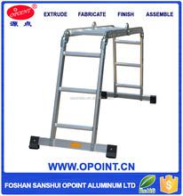 Alibaba China Cast Aluminiun Flexible Aldi Ladder