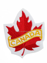 CANADA Canadian Flag Symbol MAPLE LEAF Embroidery sew on Patches Woven Badges