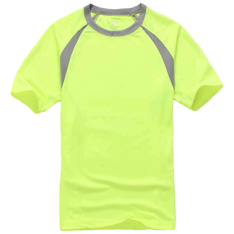 High quality dry fit mesh custom design round neck t shirt for Custom dry fit shirts