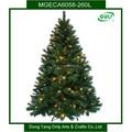 2014 nuevo estilo artificial caliente de navidad iluminado árboles