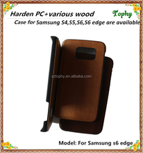 wood hard back Cover Case for SAMSUNG GALAXY S6 /S6 EDGE WOODEN CASE