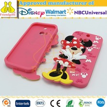 NBCUniversal Audited Factory Character Silicone Case Custom 3d Mobile Phone Cover