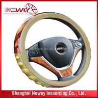 Auto car accessories 3-spoke steering wheel cover /wheel shelter