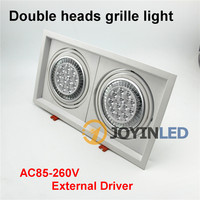 24W two heads fittings warm white cre XPE CHIPs Assembly AC/DC12 12X1W11 led spotli AR111 qr1ght for home