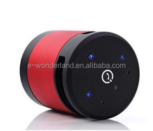 Stereo Voice Gesture Recognition Mini Cylinder Bluetooth Speaker with Hand-free Function Read SD card