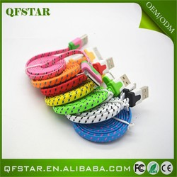 Hot sale braided wholesale cable mini usb a rca