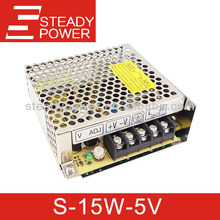 S-15W ac to dc 5v 15w led power supply 15w factory power supply