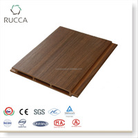 WPC Plastic Composite Exterior Wooden Wall Panel ,Wall Decoration of Modern House from Rucca170*17mm