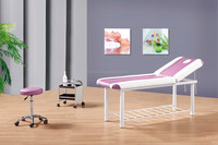 2015 jade roller massage bed&infrared jade massage bed&electric portable spa massage table bed (KM-8205)