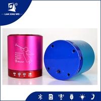 Aluminum Alloy Cannon digital speaker Mini USB Micro TF Card Mp3 Player FM Radio Audio Speaker