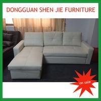 Good quality big pull out corner sofa with storage box