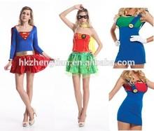 instyles para mujer sexy damas de superhéroes para adultos disfraces disfraz de halloween wonderwoman