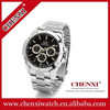 Wholesale stainless steel quartz wrist cheap watch for men can customzied your logo on watch 019AMS