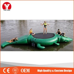 Inflatable water games, adult inflatable water flooring park games
