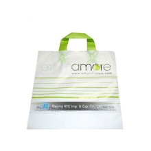 China OEM production LDPE /HDPE customed printed advertising plastic tote bags with handles