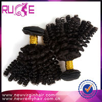 5A Brazilian Kinky Curly Hair Extensions 10inch afro nubian twist Kinky Curl Brazilian hair