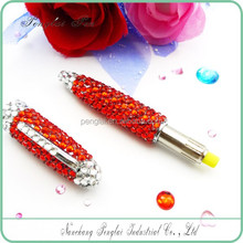 2015 crystallized gift metal crystal body pen diamond jewelled crystal metal ball pen