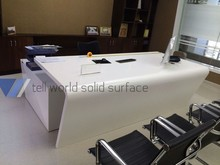 OEM modern office table design office furnniture type white executive desk