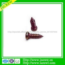 china fabricante tornillo tornillo de cobre