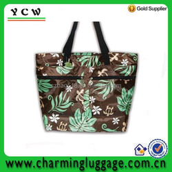 2015 hot new products of pattern beach tote bag