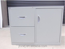 MOBILE METAL OFFICE/ INDUSTRIAL/home STORAGE / filing CABINET/caddy. Grey.