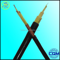 high quality copper conductor PVC insulated and sheathed control kvvr cable